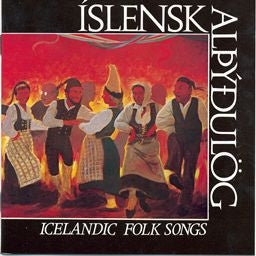 Icelandic sweaters and products - Icelandic Folk Songs - Íslensk Alþýðulög (CD) CD - NordicStore
