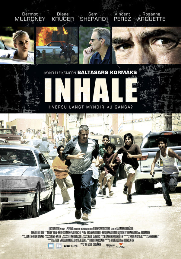 Icelandic sweaters and products - Inhale (DVD) DVD - NordicStore