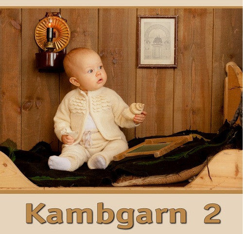 Icelandic sweaters and products - Kambgarn 2 - Pattern book Pattern Book - NordicStore