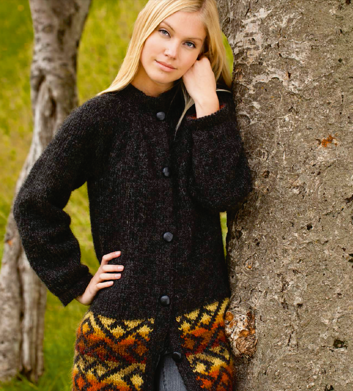 Icelandic sweaters and products - Katla - knitting kit  - NordicStore