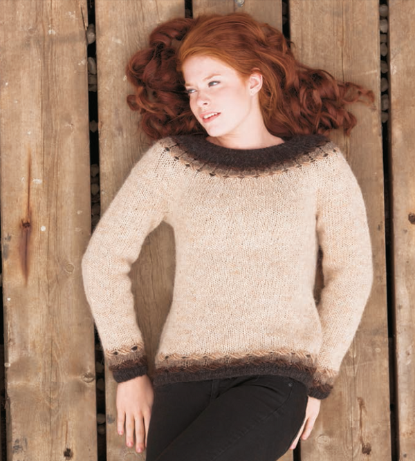 Icelandic sweaters and products - Kross - knitting kit Wool Knitting Kit - NordicStore