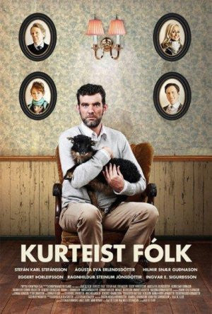 Icelandic sweaters and products - Kurteist fólk (DVD) DVD - NordicStore