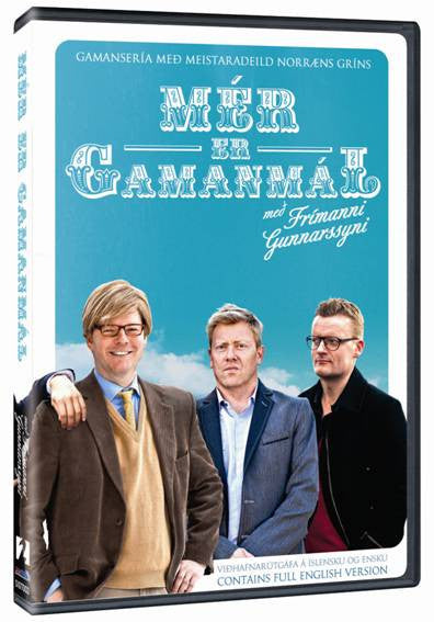 Icelandic sweaters and products - Mér er Gamanmál (DVD) DVD - NordicStore