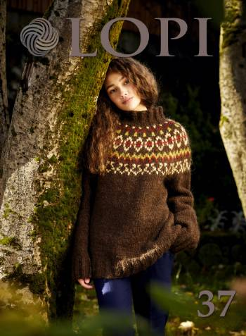 Icelandic sweaters and products - Lopi Pattern Book No. 37 Pattern Book - NordicStore