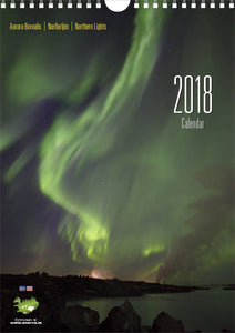 Northern Lights Calendar 2018