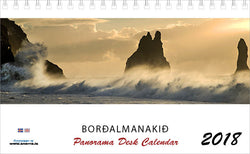 Icelandic sweaters and products - The Panorama Desk Calendar 2018 Calendar - NordicStore