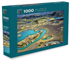 Icelandic sweaters and products - Sveinstindur Peak - Jigsaw Puzzle (1000 pcs) Puzzle - NordicStore