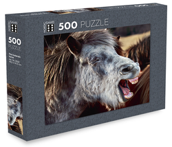 Icelandic sweaters and products - The Icelandic Horse - Jigsaw Puzzle (500pcs) Puzzle - NordicStore