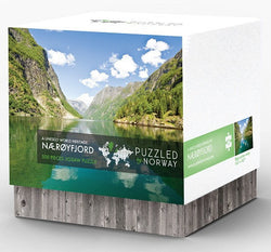 - Icelandic Puzzled by Norway - Nærøfjord - Puzzle - Nordic Store Icelandic Wool Sweaters