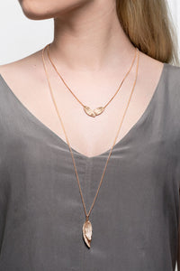 Icelandic sweaters and products - Raven Gold Plated Silver Necklace (Raven 211 GP) Jewelry - NordicStore