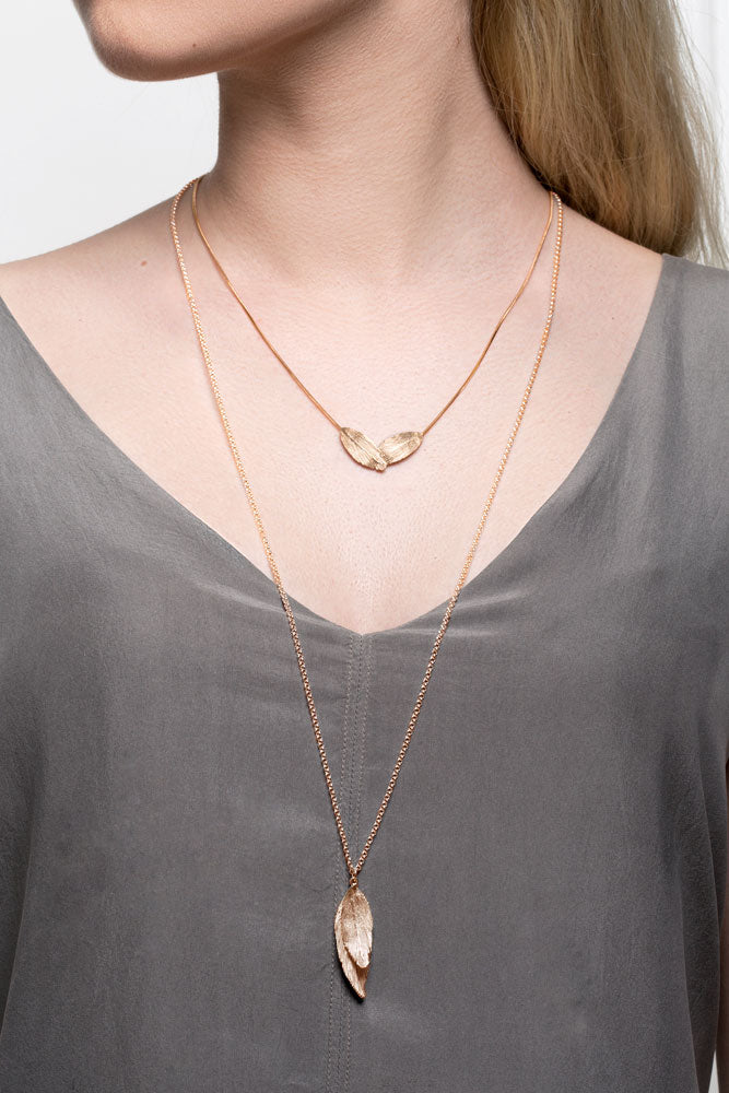 Icelandic sweaters and products - Raven Gold Plated Silver Necklace (Raven 210 GP) Jewelry - NordicStore