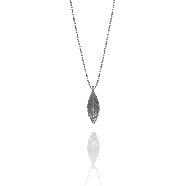 Icelandic sweaters and products - Raven Oxidized Silver Necklace (Raven 213 OX) Jewelry - NordicStore