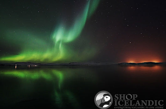 - Icelandic Reflected Aurora - Fine Print - Nordic Store Icelandic Wool Sweaters