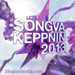Icelandic sweaters and products - Söngvakeppnin 2013 (CD) CD - NordicStore