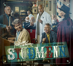 Icelandic sweaters and products - Stuðmenn á stórtónleikum í Hörpu (CD+DVD) CD - NordicStore