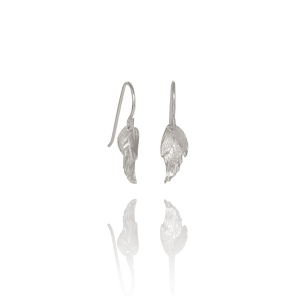Icelandic sweaters and products - Aurum Swan Earrings Silver (Swan 113) Jewelry - NordicStore
