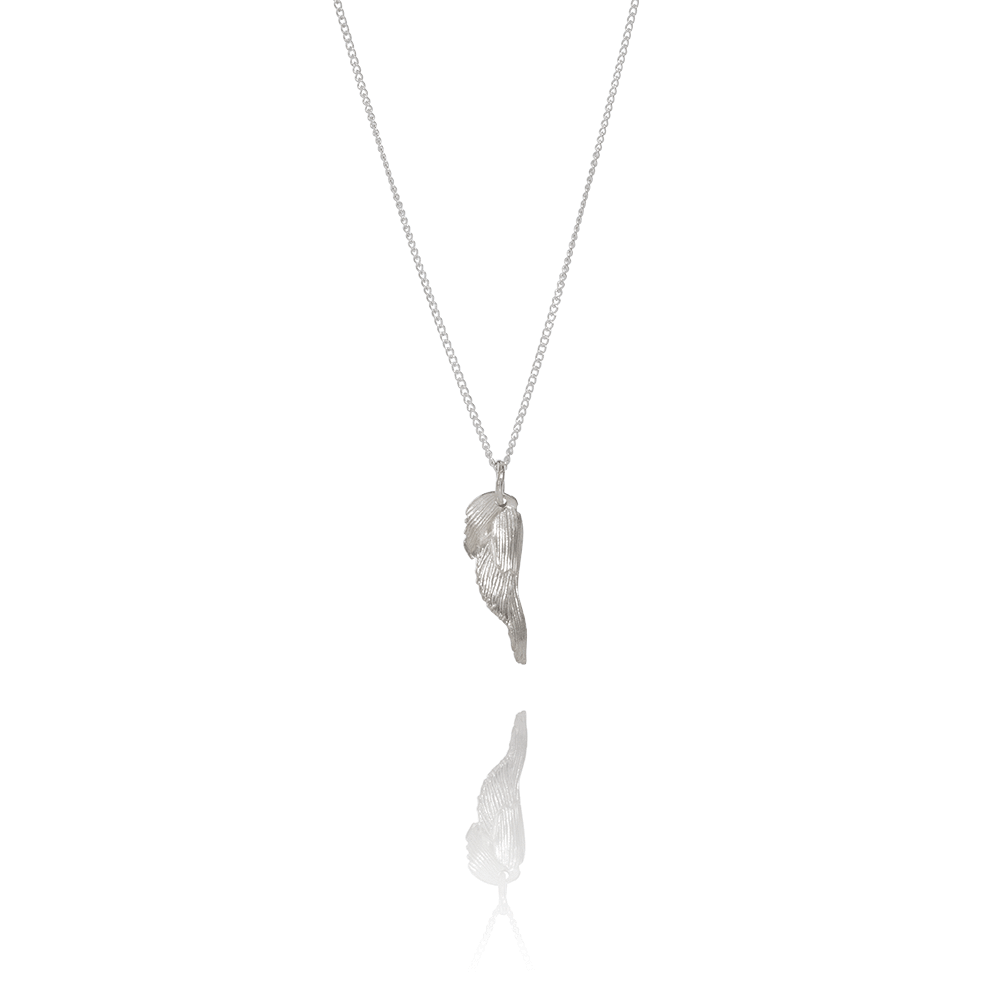 Icelandic sweaters and products - Aurum Swan Necklace Silver (Swan 206) Jewelry - NordicStore