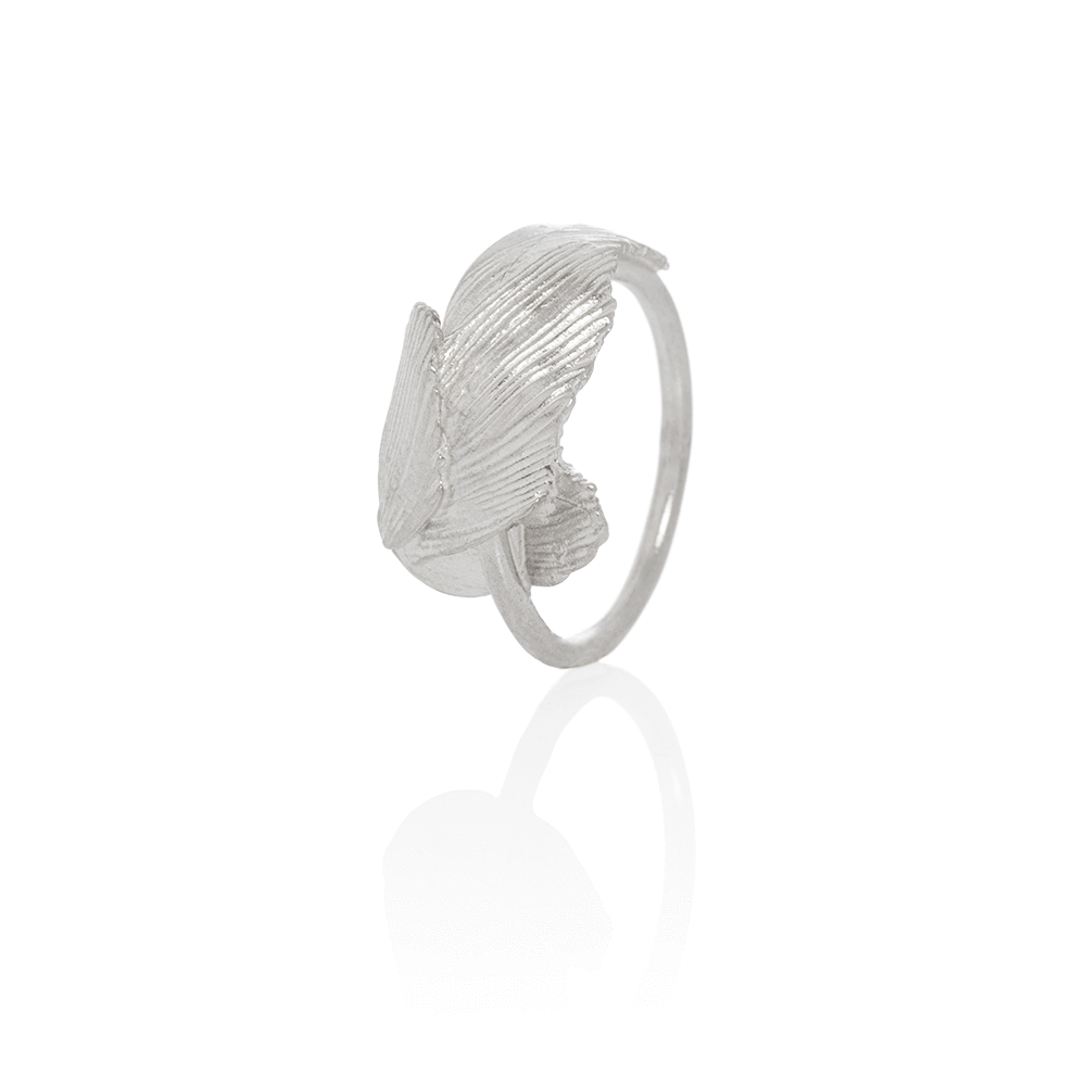 Icelandic sweaters and products - Aurum Swan Ring Silver (Swan 401) Jewelry - NordicStore