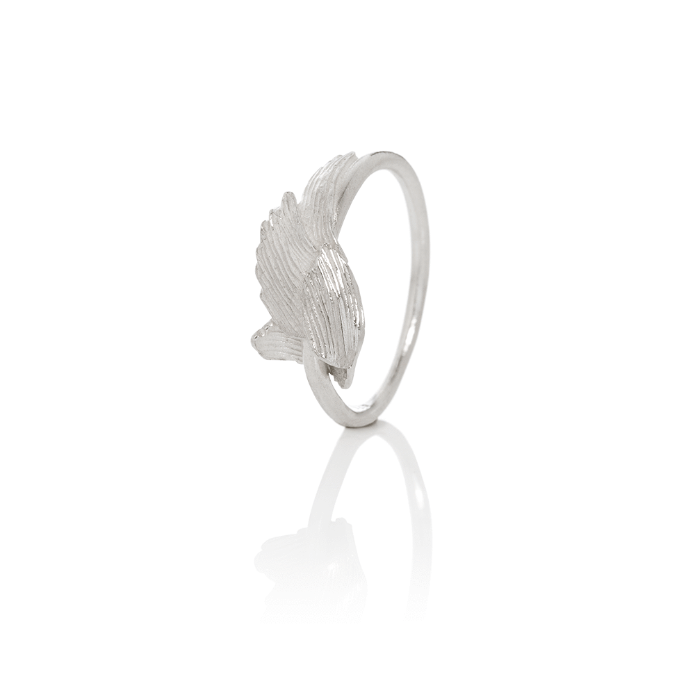 Icelandic sweaters and products - Aurum Swan Ring Silver (Swan 403) Jewelry - NordicStore
