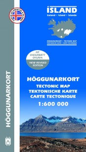 Icelandic sweaters and products - Hiking Map 1 - Reykjanes, Þingvellir - 1:100.000 Maps - NordicStore