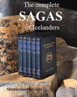 Icelandic sweaters and products - The Complete Sagas of Icelanders Book - NordicStore