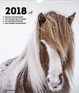 Icelandic sweaters and products - The Icelandic Horse calendar - 2018 Calendar - NordicStore