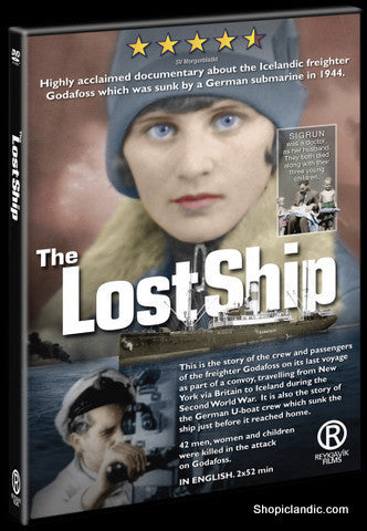 Icelandic sweaters and products - The Lost Ship - Goðafoss (DVD) DVD - NordicStore