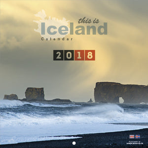 Icelandic sweaters and products - This is Iceland Calendar 2018 Calendar - NordicStore