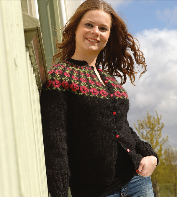 Icelandic sweaters and products - Thyrniros / Sleeping Beauty - knitting kit  - NordicStore