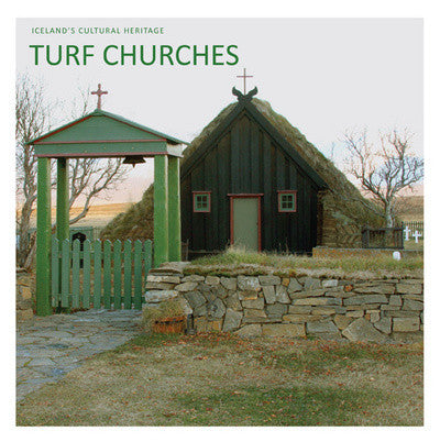 Icelandic sweaters and products - Turf Churches Book - NordicStore