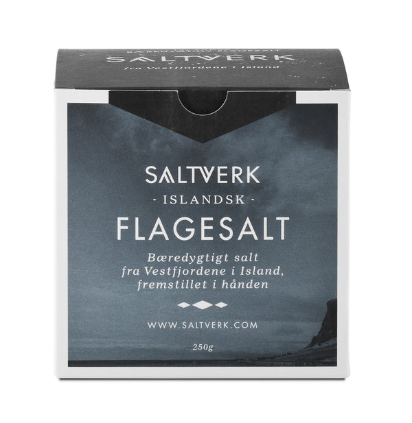 - Icelandic Saltverk - Original Flaky Sea Salt (250gr) - Food - Nordic Store Icelandic Wool Sweaters