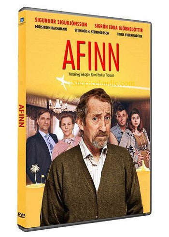 Icelandic sweaters and products - Afinn - The Grandad (DVD) DVD - NordicStore