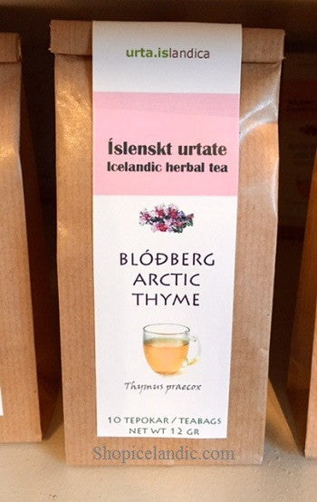 Icelandic sweaters and products - Arctic thyme - Blodberg - Herbal Tea Tea - NordicStore