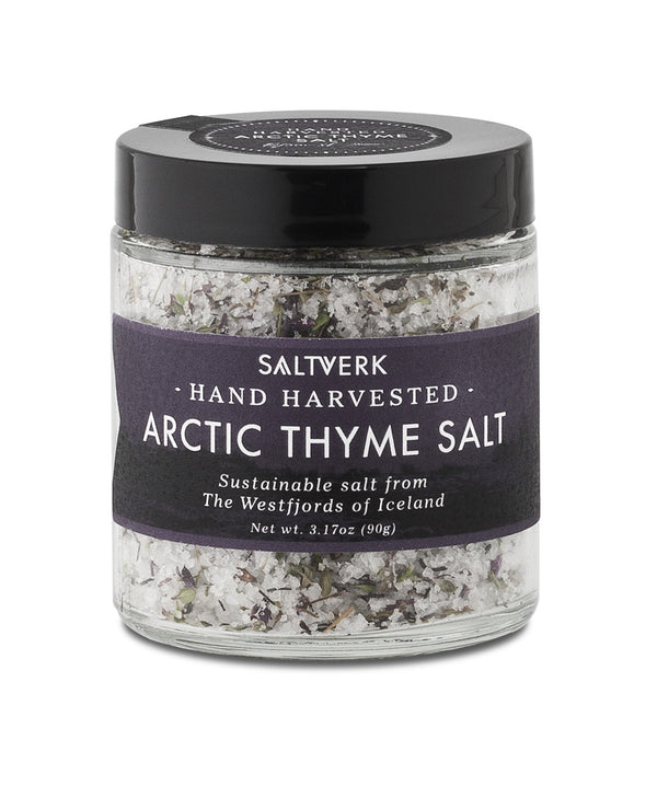 Icelandic sweaters and products - Saltverk - Arctic Thyme Salt (90gr) Food - NordicStore