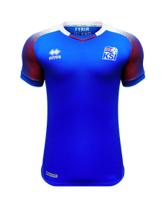 Official Icelandic National Soccer Jersey 2018 World Cup (2018-2020)