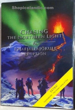 Icelandic sweaters and products - Chasing the Northern Lights & Eyjafjallajökull Eruption (DVD) DVD - NordicStore