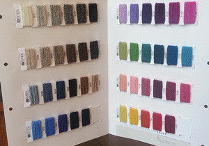 Icelandic sweaters and products - Einband - Color Sample Card Einband Wool Yarn - NordicStore