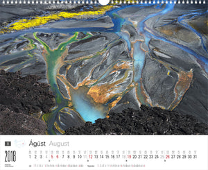 Icelandic sweaters and products - Experience Iceland Calendar 2018 Calendar - NordicStore