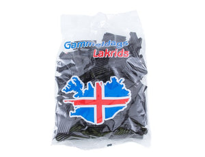Icelandic sweaters and products - Gammeldags Lakrids (350gr) Candy - NordicStore