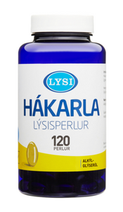- Icelandic Shark Liver Oil Capsules (120pc) - Shark Liver Oil - Nordic Store Icelandic Wool Sweaters