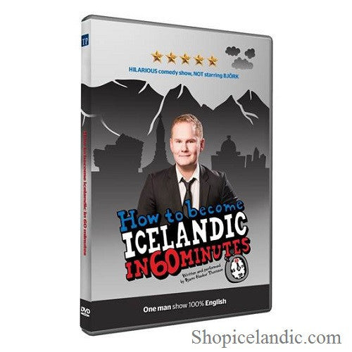 Icelandic sweaters and products - How to become Icelandic in 60 minutes (DVD) DVD - NordicStore