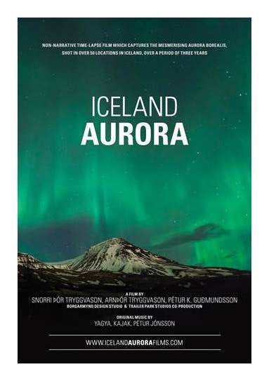 Icelandic sweaters and products - Iceland Aurora (DVD) DVD - NordicStore