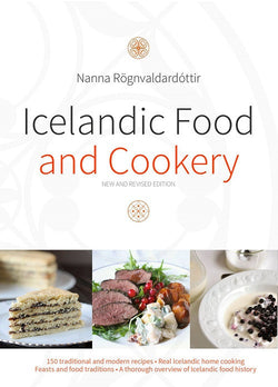 Icelandic sweaters and products - Icelandic Food and Cookery Book - NordicStore