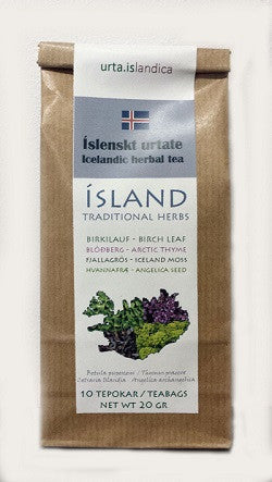 Icelandic sweaters and products - Icelandic Herbal Tea Tea - NordicStore