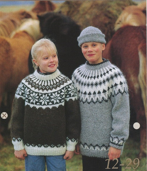 - Icelandic Icelandic Wool Sweater and Hat Pattern 12-27 Boy - Icelandic Wool Sweater Pattern - Nordic Store Icelandic Wool Sweaters