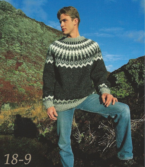 Icelandic sweaters and products - Icelandic Wool Sweater Pattern 18-9 Pattern Book - NordicStore