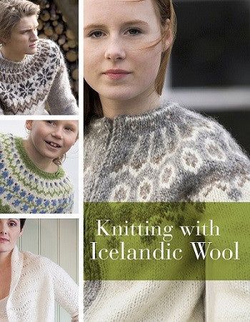 Icelandic sweaters and products - Knitting with Icelandic Wool (2013) Pattern Book - NordicStore