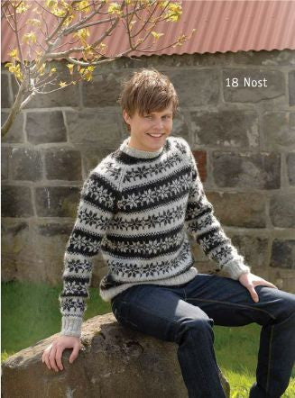Icelandic sweaters and products - Nost - knitting kit Wool Knitting Kit - NordicStore