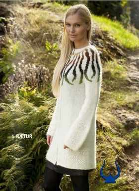 Icelandic sweaters and products - Roots - knitting kit Wool Knitting Kit - NordicStore
