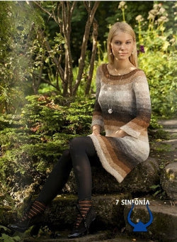 Icelandic sweaters and products - Sinphony Earth Colors - knitting kit Wool Knitting Kit - NordicStore